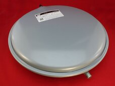 Бак расширительный 8 литров G 3/8 плоский круглый Zilmet 53661