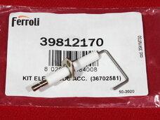 Электрод розжига и контроля пламени Ferroli 36702581