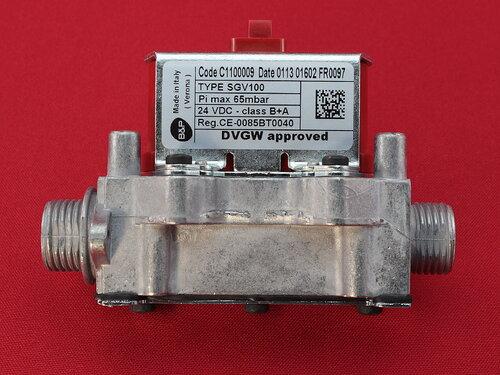 Купить Газовый клапан Ferroli Divatech D, DomiProject D 39841320 Code C1100009 Date5011 04491 FR0067 TYPE SGV100 Pi max65 mbar 24 VDC - class B+A Reg CE-0085BT0040 DVGW approved 1 922 грн., фото