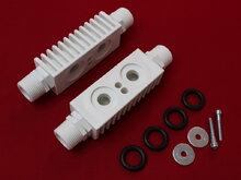 Переходники Aquamax для подключения промывки пластинчатых теплообменников (0817)
