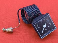 Манометр газовых котлов 45х45 мм, резьба 1/4G 91400350