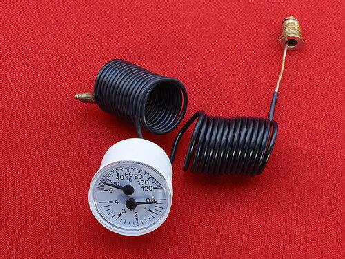 Купить Термоманометр газовых котлов Ø40 резьба 1/4G 474 грн., фото