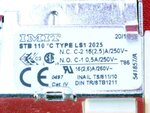 Купить Термостат безопасности 110°С котлов Fondital Bali, Nova Florida Altair 930 грн., фото