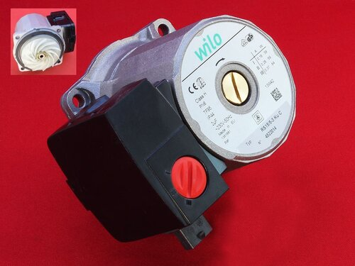 Купить Циркуляционный насос Wilo RS 15/5-3 Ku ➣ открытые лопасти рабочего колеса 1 650 грн., фото