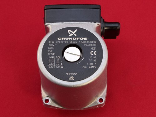 Купить Оригинальный насос Grundfos UPS 15-50 для газовых котлов Hermann, Tiberis 2 806 грн., фото
