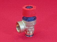 Предохранительный клапан на котел 3 бара G1/2 c резиновым уплотнением
