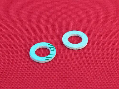 Купить Прокладка паронит безасбестовая 1/2 дюйма - размер (18,5х10,5х2) мм 10 грн., фото