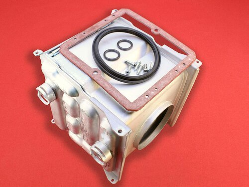 Купить Теплообменник конденсационного котла Ariston Egis Premium, Сhaffoteaux Alixia Green ➣ 24 FF 7 130 грн., фото