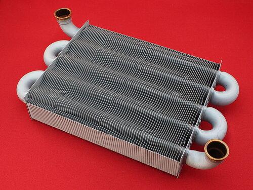 Купить Теплообменник первичный Chaffoteaux 25 FF (выпуском с 2008 года, длина 225 мм)  3 538 грн., фото