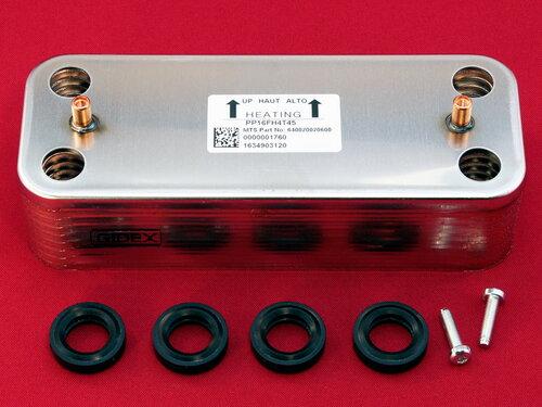 Купить Теплообменник на горячую воду котлов Ariston 16 пластин 1 550 грн., фото