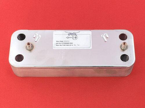 Купить Теплообменник пластинчатый котлов Baxi, Westen на 16 пластин 1 705 грн., фото