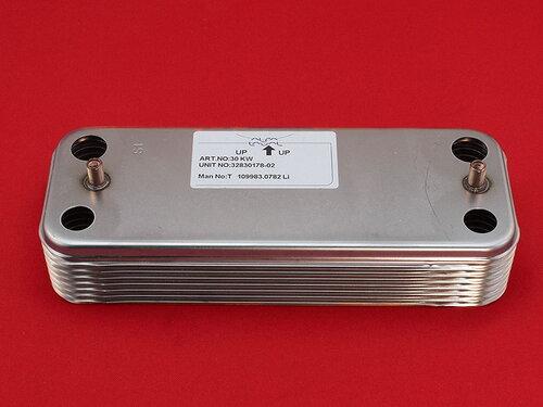 Купить Вторичный теплообменник котла Demrad 30 кВт на 16 пластин 1 952 грн., фото