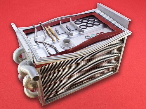 Купить Теплообменник газового конденсационного котла Ferroli Econcept 35A, 35C 13 570 грн., фото