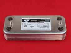 Теплообменник Buderus Logamax U002/U004/U102/U104 от Zilmet на 12 пластин (17B1901200)