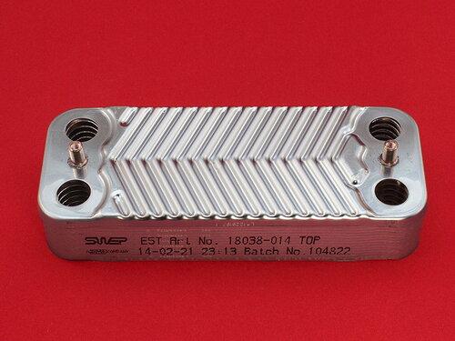 Купить Теплообменник вторичный на горячую воду Юнкерс Евролайн 12 пластин 1 678 грн., фото