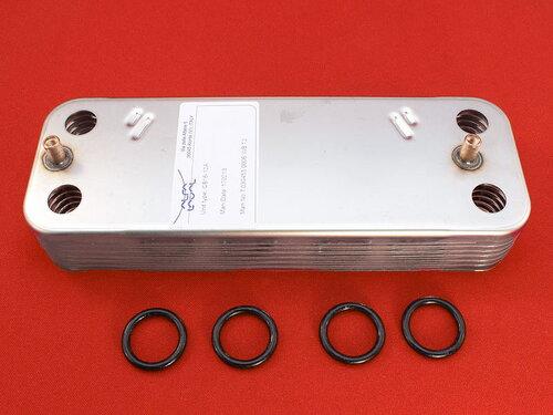 Купить Пластинчатый теплообменник Junkers Euroline, Ceraclass, Bosch Gaz 3000 W 2 542 грн., фото