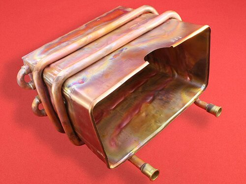 Купить Теплообменник колонки Bosch Therm 4000 O, Therm 6000 O,  Junkers Minimaxx ➣ WR13, WR14 4 160 грн., фото