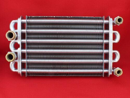 Купить Битермический теплообменник Nobel, Altogas, Maxi Boilers, Kroos, Rens, Grandini 230 мм (отверстие с резьбой Ø 1/8) 3 988 грн., фото