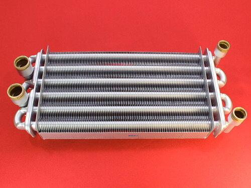 Купить Битермический теплообменник Rocterm Emerald, Praga 34 кВт (длина 310 мм) 7 436 грн., фото