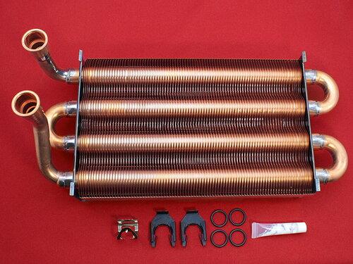 Купить Первичный теплообменник Saunier Duval Themaclassic C24 E1, F24 E1, Combitek C24E, F24E 7 670 грн., фото