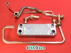 Вторичный теплообменник Vaillant VCW T3, T4, Thermoblock, COMBIcompact 065034