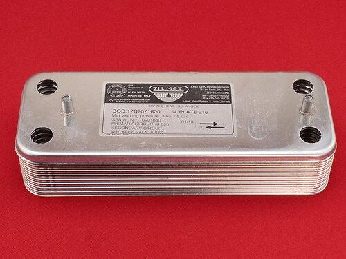 Купить Теплообменник на горячую воду котлов Baxi, Westen на 16 пластин 1 741 грн., фото