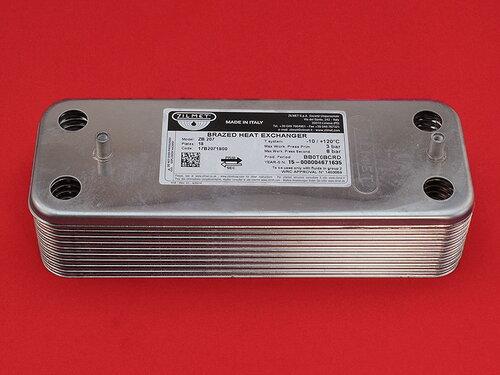 Купить Теплообменник с повышенной производительностью котлов Baxi, Westen 18 пластин 2 028 грн., фото