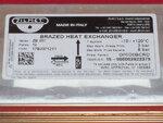 Купить Теплообменник Saunier Duval Themaclassic, Combitek, Isotwin, Semia, Themacondens 12 пластин 1 760 грн., фото