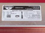 Купить Теплообменник Vaillant Turbomax, Atmomax Pro | Plus (14 пластин, длина 190 мм) 1 915 грн., фото