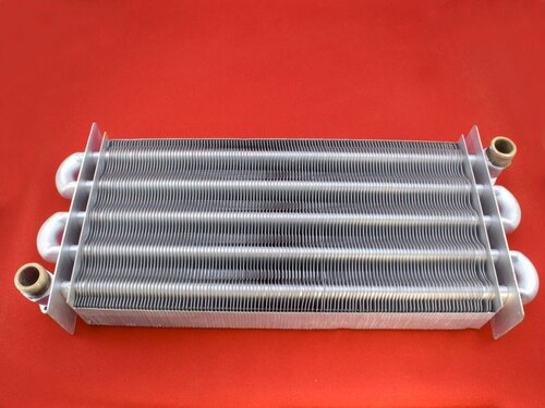 Купить Теплообменник для котла Zoom Expert, Electrolux GCB 32 кВт ➣355 мм 4 275 грн., фото