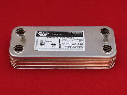 Купить Теплообменник Zoom Expert, Zoom Master 18-24 кВт ➣ 12 пластин 1 310 грн., фото