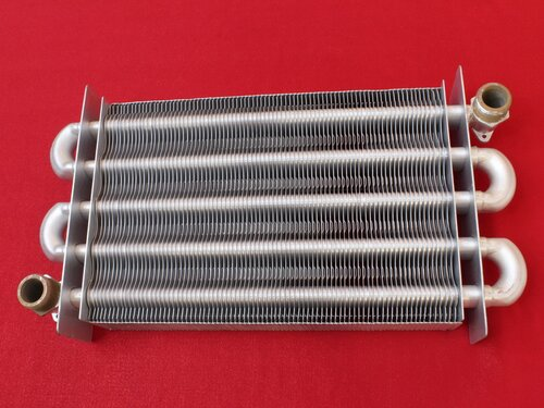 Купить Теплообменник для котла Zoom, Rens, Weller, Solly Primer, Electrolux ➣ 270 мм 3 853 грн., фото