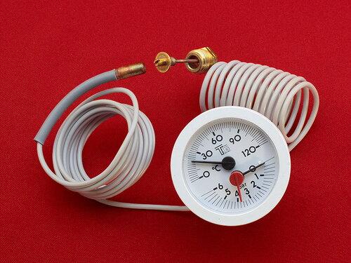 Купить Термоманометр напольных котлов Ferroli Ø 52 мм 767 грн., фото