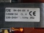 Купить Вентилятор Ariston Genus, Genus Evo, Clas B 24 FF 65104255 2 593 грн., фото