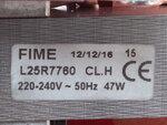 Купить Вентилятор котла Ariston Genus 28 FF, Genus Evo 30 FF 65104231 2 945 грн., фото