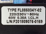 Купить Вентилятор газового котла Zoom Expert, Zoom Master, Rens 18 BF (подшипник на оси) 2 015 грн., фото
