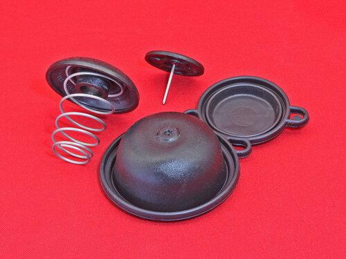Купить Комплект для ремонта колонки Ariston, Chaffoteaux ➤ мембрана, пружина, тарелка со штоком 590 грн., фото