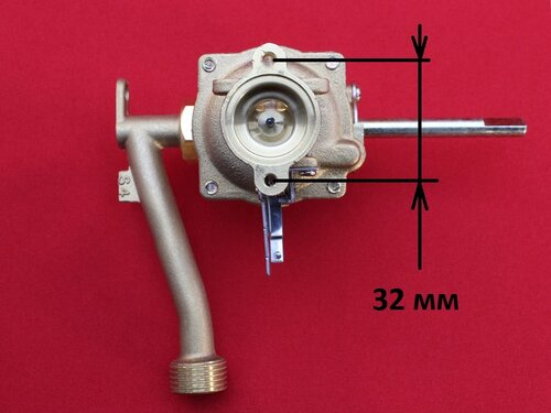 Купить Гидроблок (резьба к теплообменнику, фланец Ø32 мм к газовому блоку) 418 грн., фото