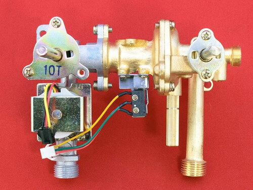 Купить Газоводяной редуктор подсоединение к теплообменнику резьба, фланец к газовому блоку 32 мм 504 грн., фото
