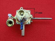 Водяной узел (резьба к теплообменнику, фланец Ø29 мм к газовому блоку)