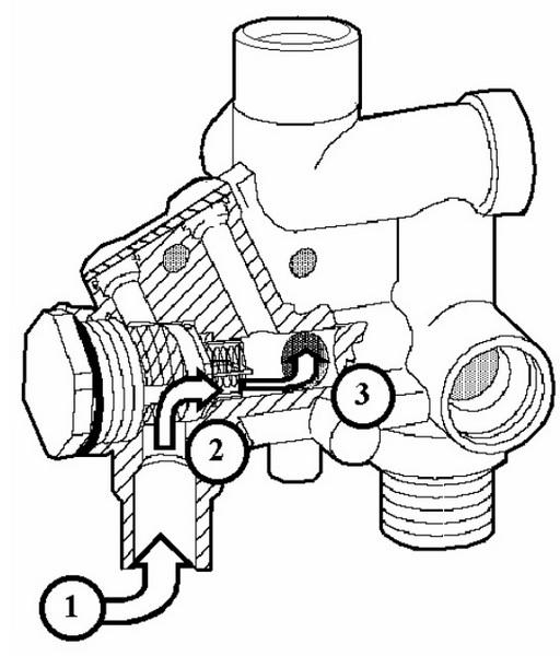 Фильтр и турбинка Fugas