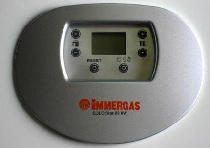 Кнопки Immergas