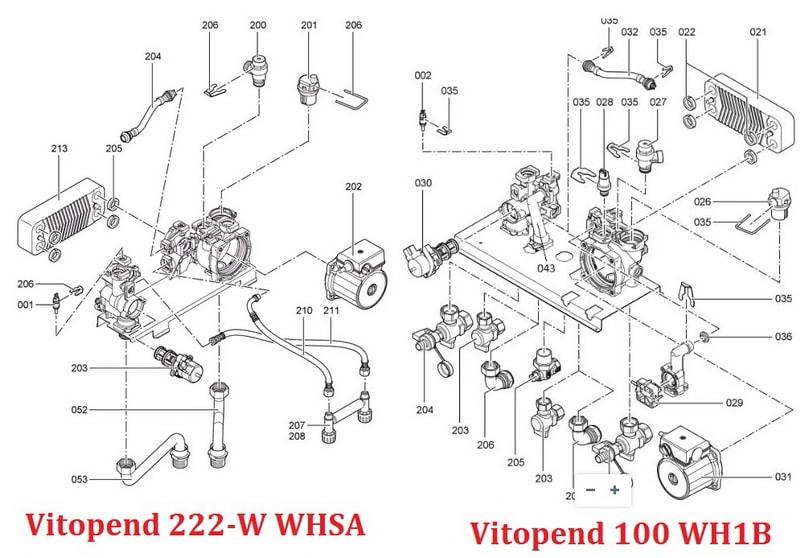 Vitopend 100 WH1B